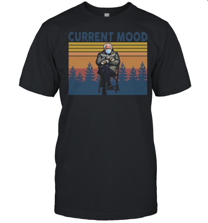Bernie Sanders Current Mood vintage shirt Classic Men's T-shirt