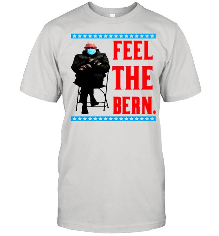 Bernie Sanders feel the bern shirt Classic Men's T-shirt