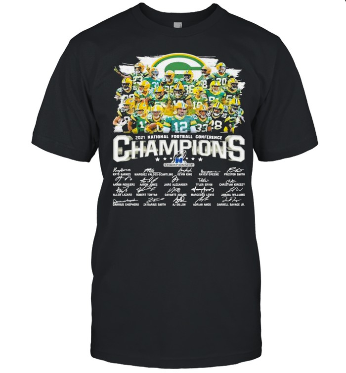Champions National Football Conference Green Bay Packers Signature shirt Classic Men's T-shirt