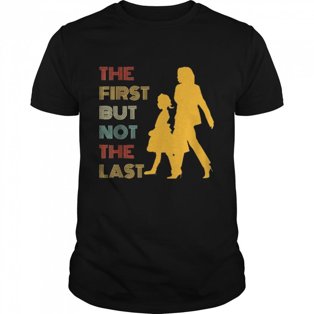 The first but not the last kamala harris ruby bridges classic shirt Classic Men's T-shirt