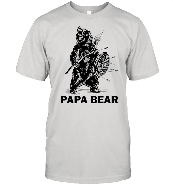 Papa bear Viking shirt Classic Men's T-shirt