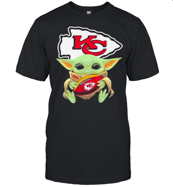 Baby Yoda Kansas City Chiefs Football shirt Classic Men's T-shirt