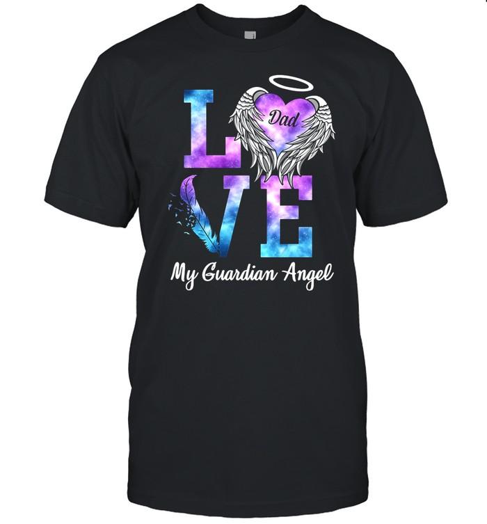 Love Dad My Guardian Angel shirt Classic Men's T-shirt