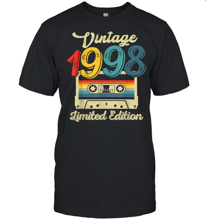 Vintage 1998 23rd Birthday Cassette Tape shirt Classic Men's T-shirt