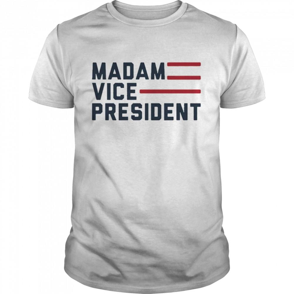 Madam VP President Flag Tee shirt Classic Men's