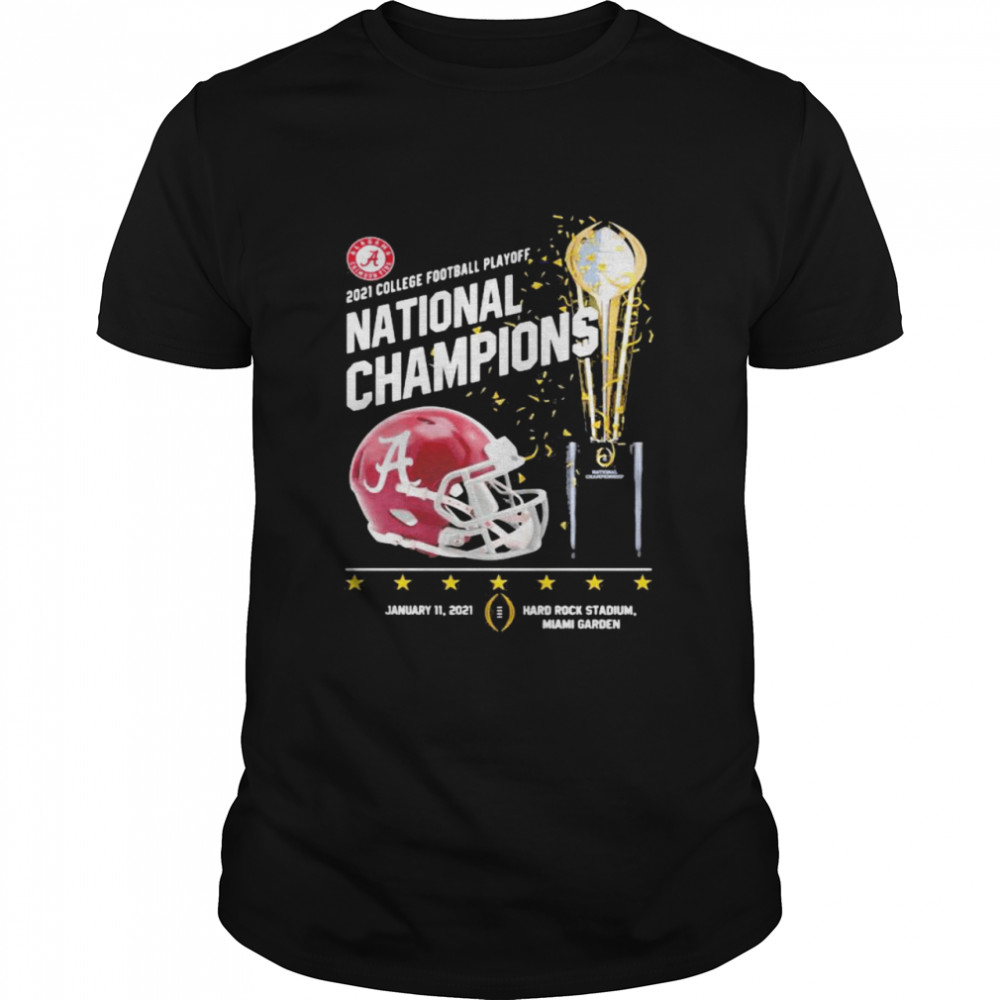 2021 College Football Playoff National Championship Victory shirt Classic Men's
