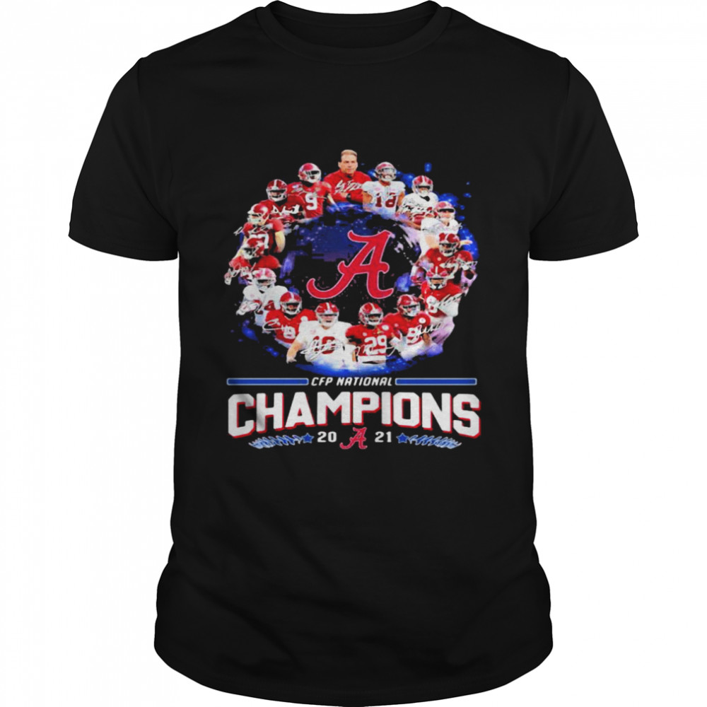 Alabama Crimson Tide Football Playoff National Champions 2021 shirt Classic Men's