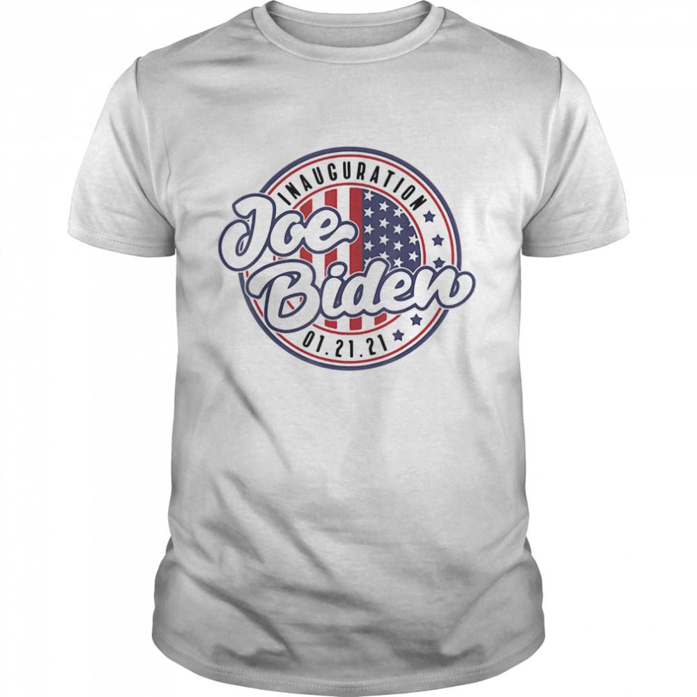 Inauguration Joe Biden 01 21 21 American shirt Classic Men's