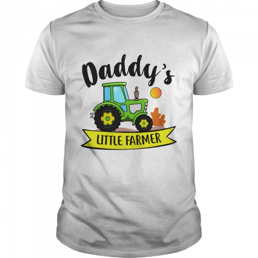 Kids Daddys Little Farmer Agrimotor Country Farm Girls Boys shirt Classic Men's