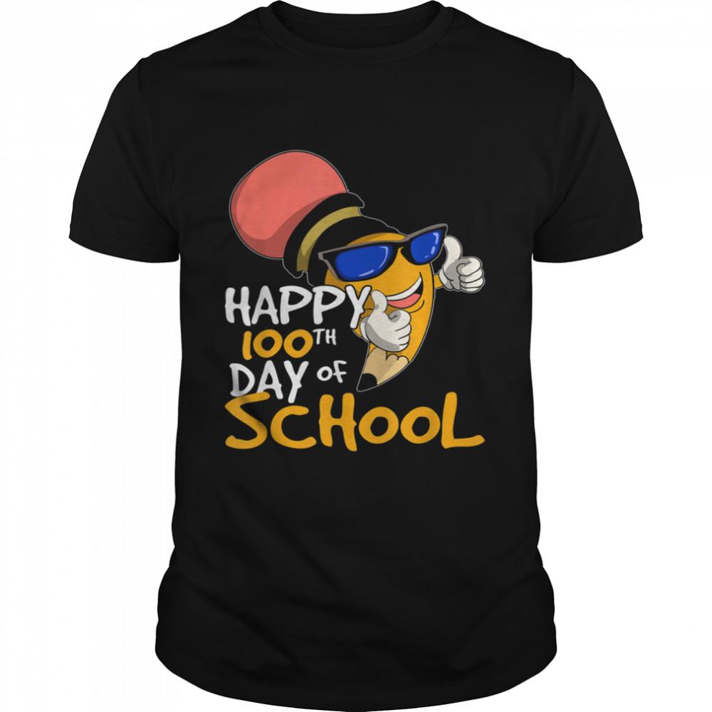 School Teacher Student Girls Boys 100th Day Of School shirt Classic Men's