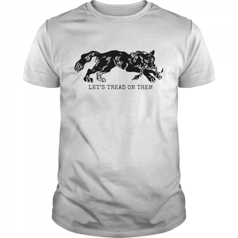 Tiger Let's Tread On Them shirt Classic Men's
