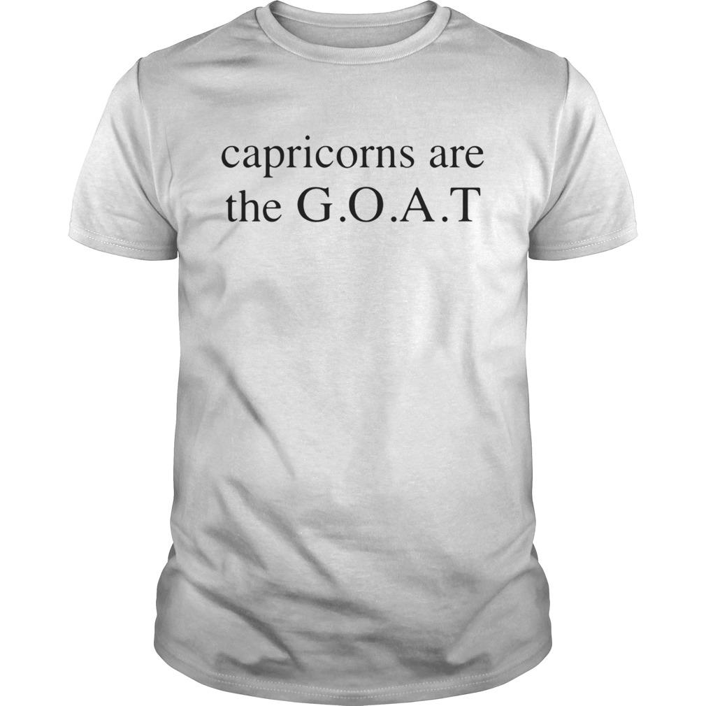 Capricorns are the Goat shirt Classic Men's