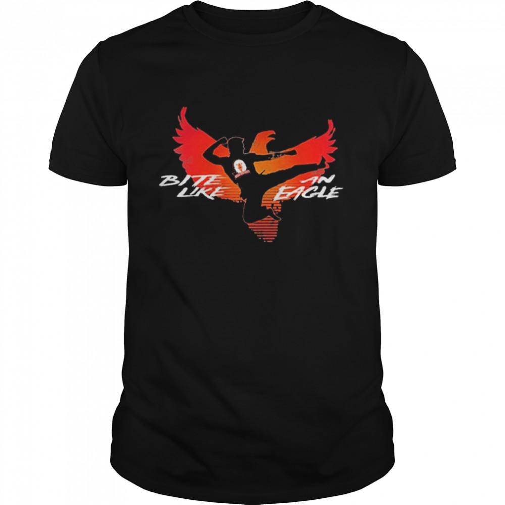 Cobra Kai Bite Like an Eagle Jump Kick shirt Classic Men's