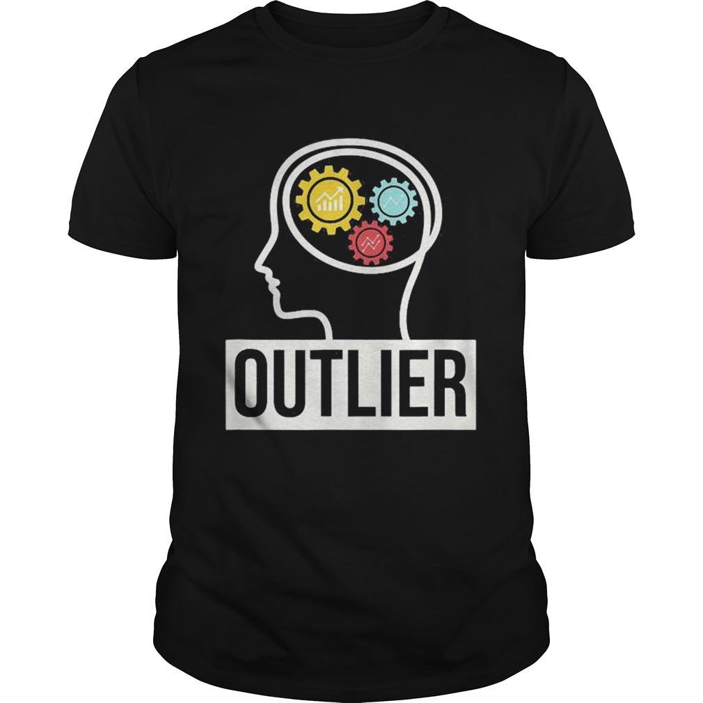 Data Science Data Nerd Analyst Outlier shirt Classic Men's