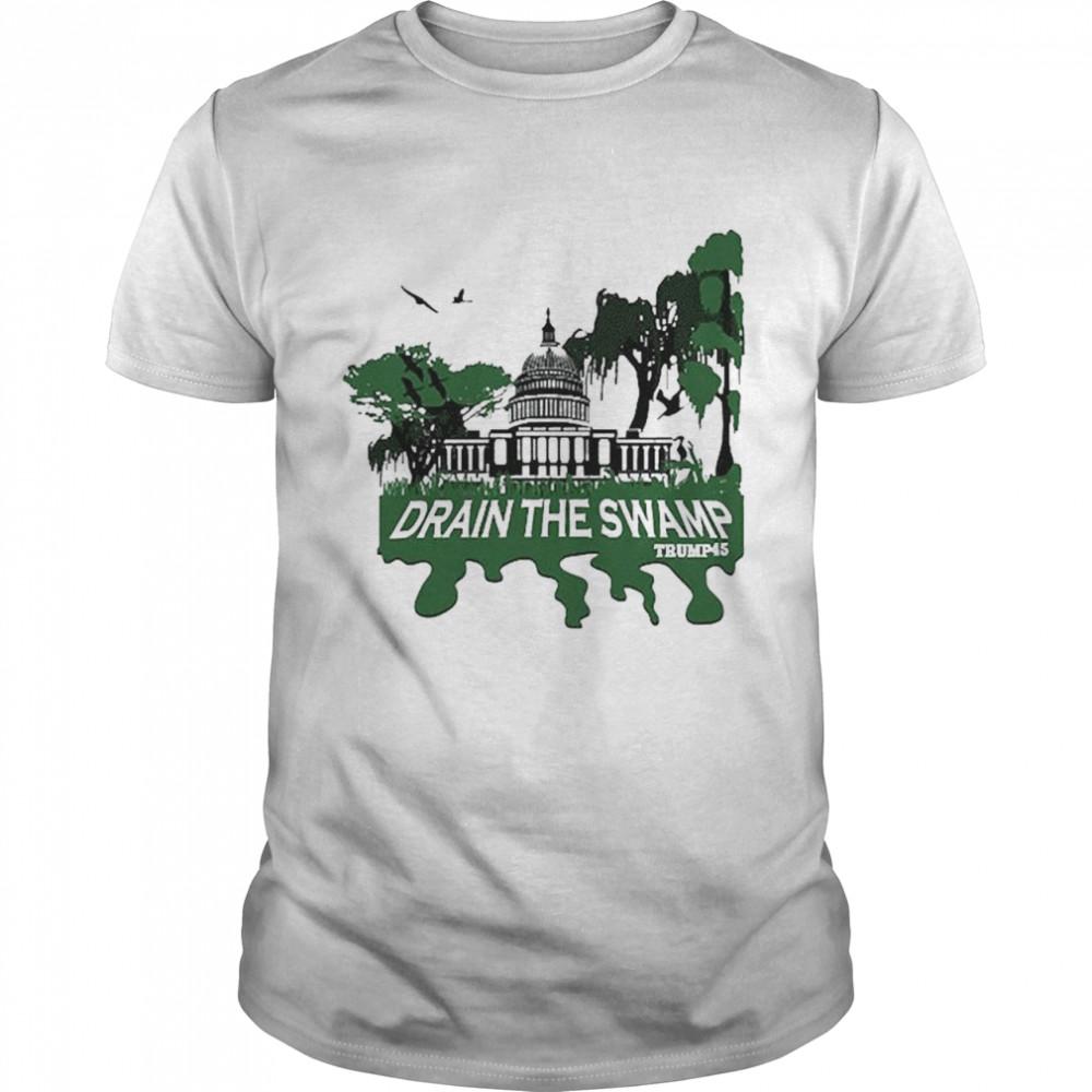 Drain The Swamp Trump shirt Classic Men's