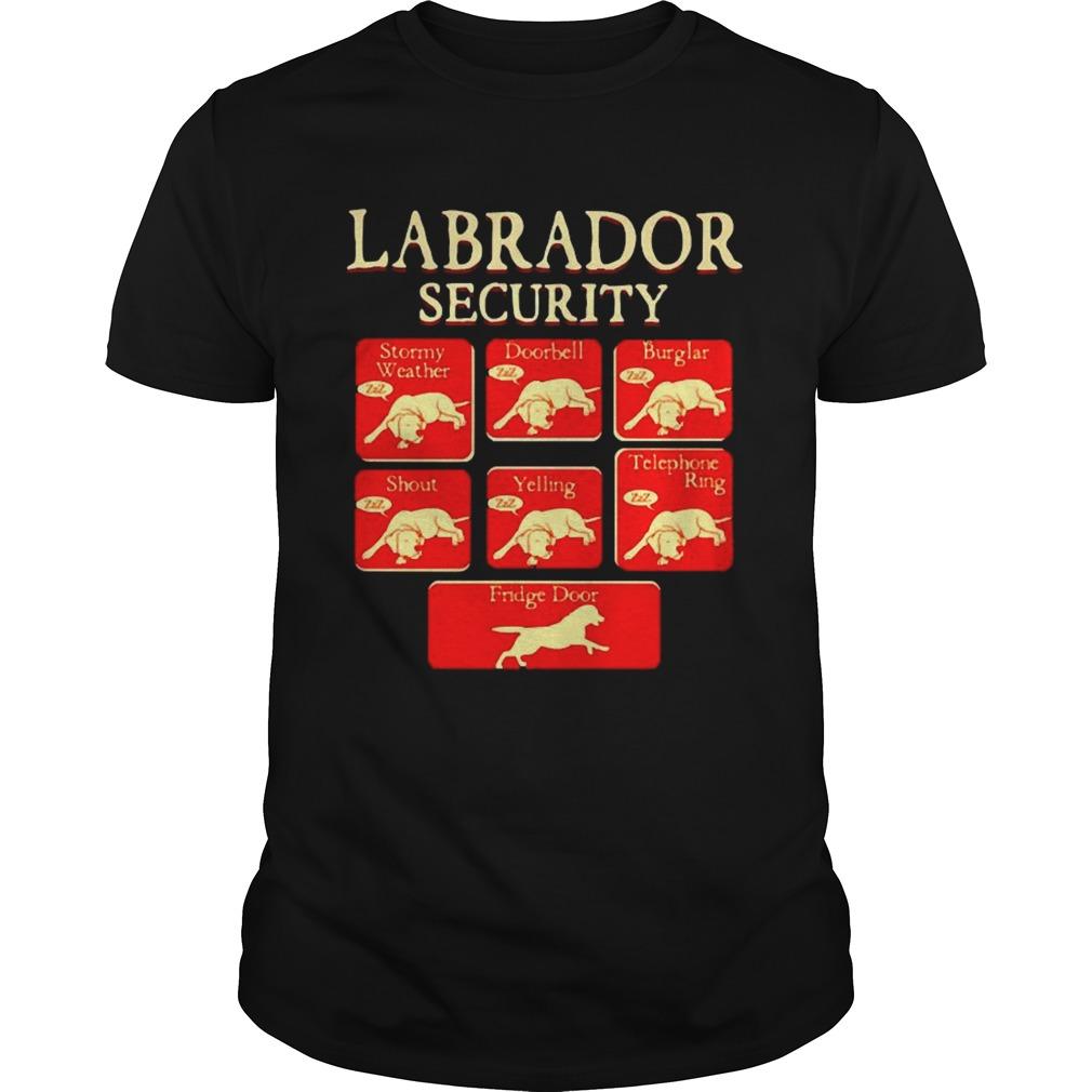 Labrador Retriever Security shirt Classic Men's