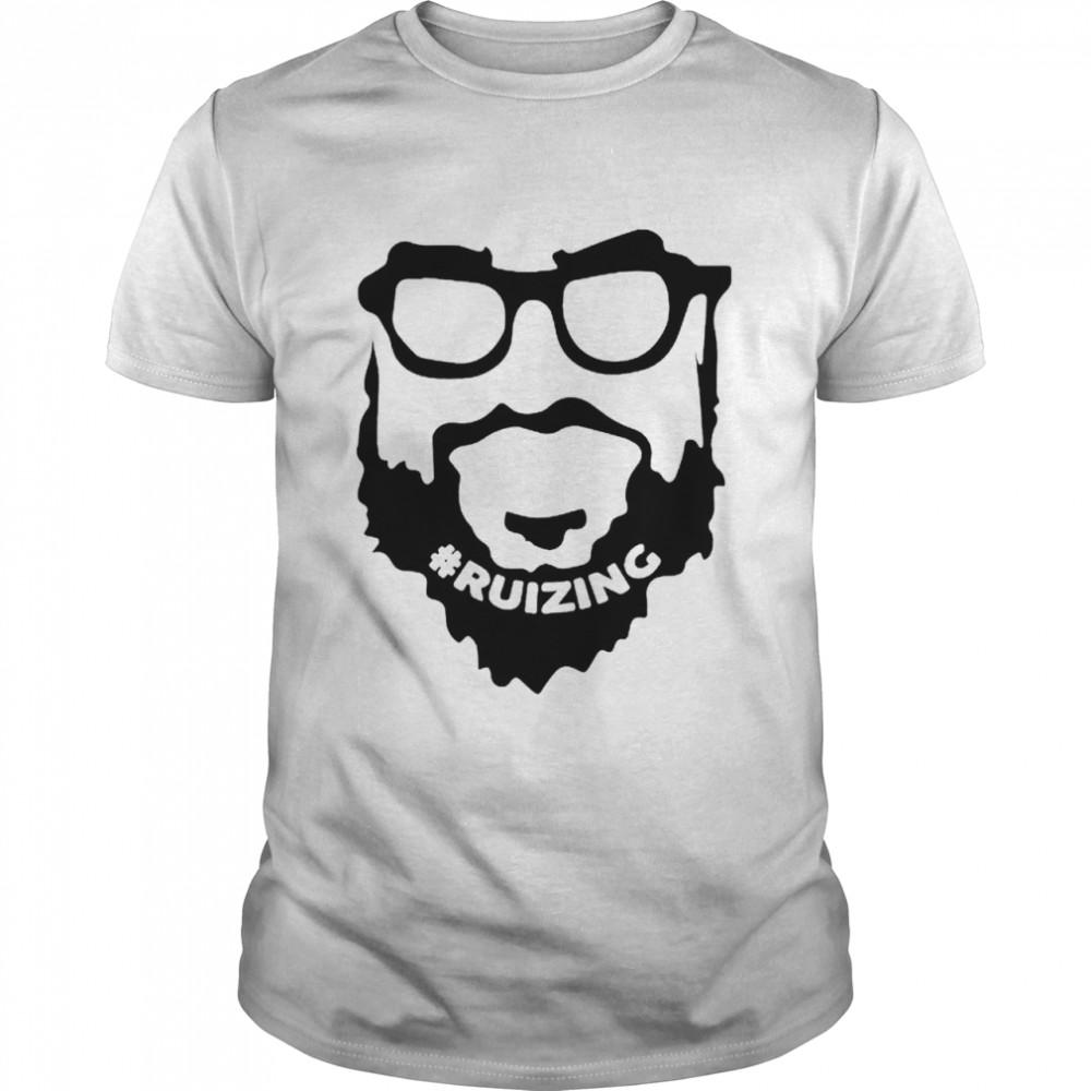 Ruizing Beard shirt Classic Men's