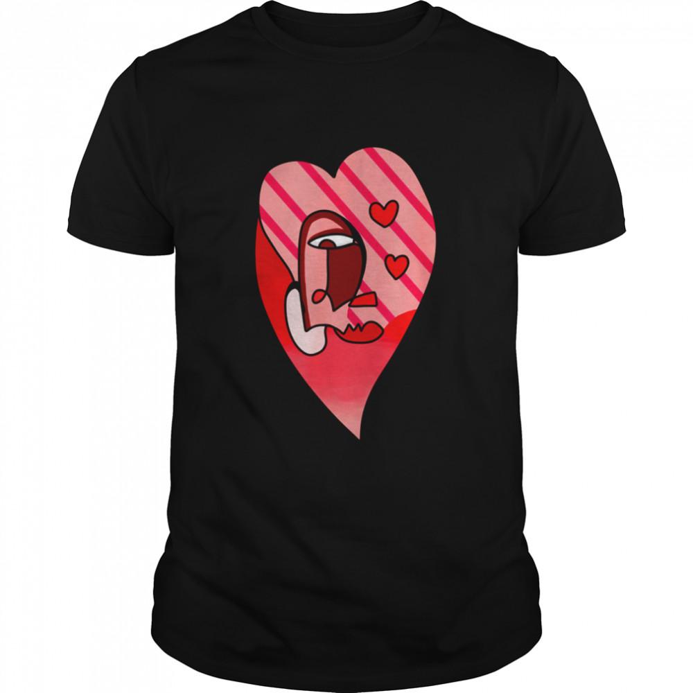Valentine Love shirt Classic Men's