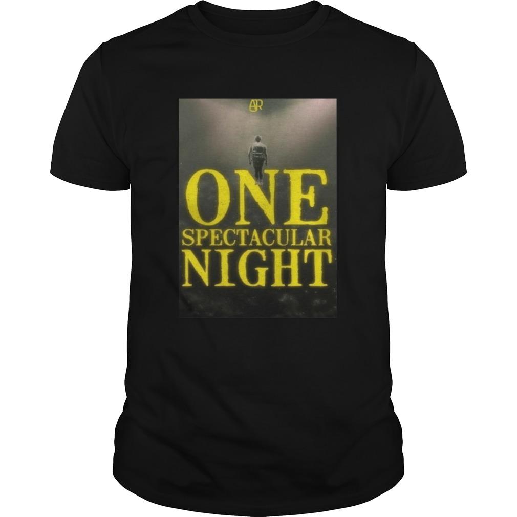 Ajr One Spectacular Night shirt Classic Men's
