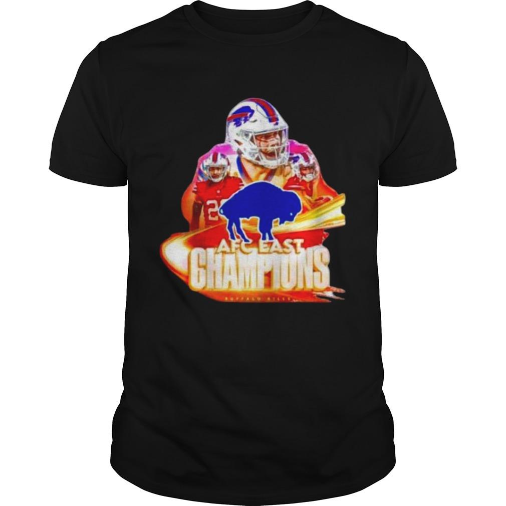Buffalo Bills Team AFC East Champions 2020 shirt Classic Men's