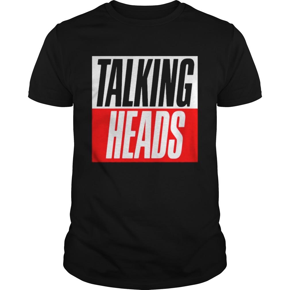 white talking heads shirt Classic Men's