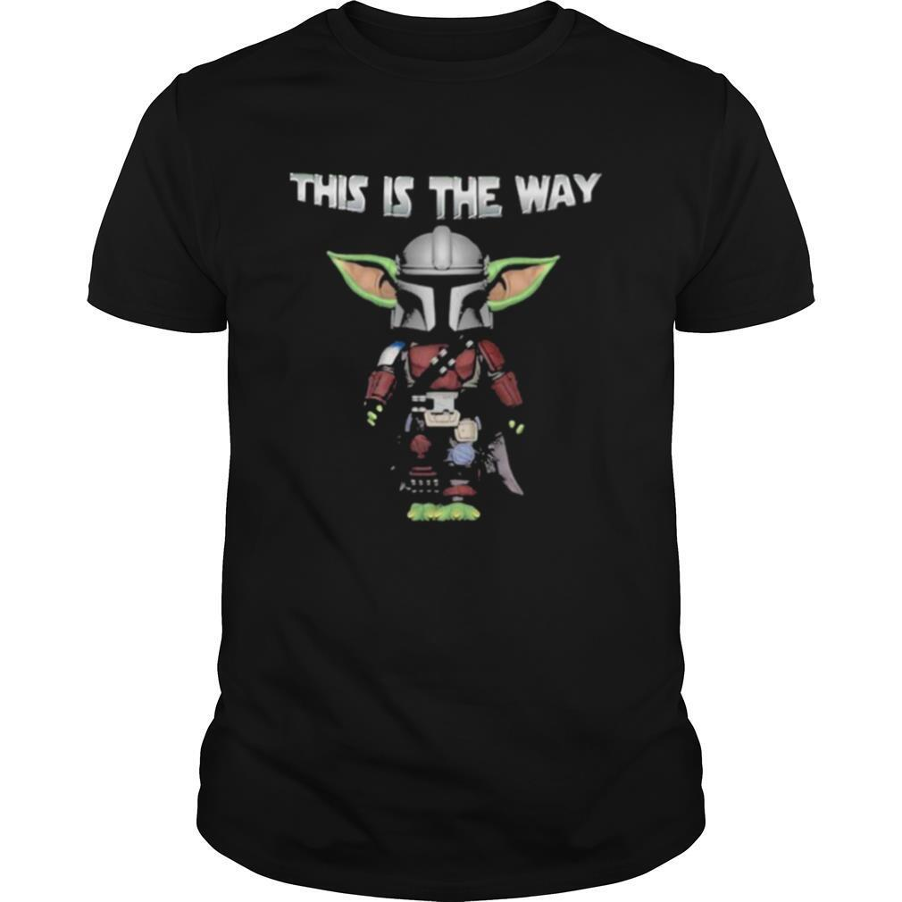 This Is The Way Yoda Star Wars shirt Classic Men's