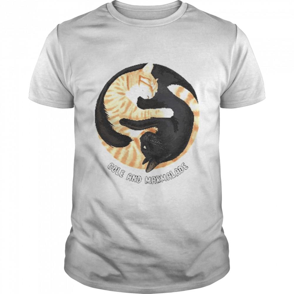 Cole And Marmalade Yin Yang shirt Classic Men's