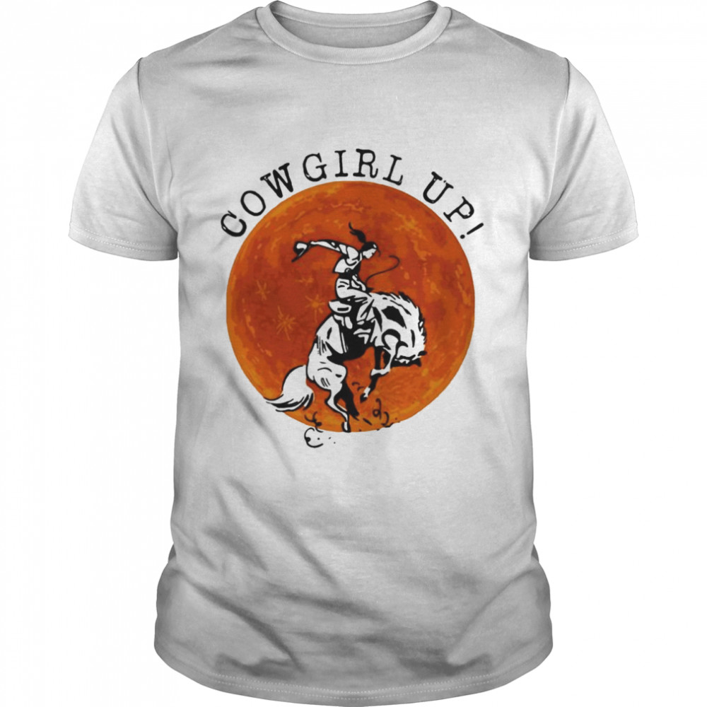 Cowgirl Up The Moon shirt Classic Men's