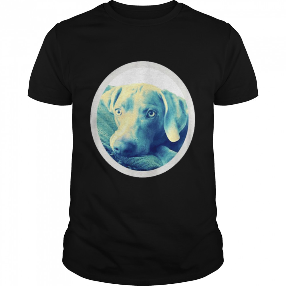 Cailey the weimaraner at rest shirt Classic Men's