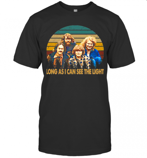 Creedence Clearwater Revival Long As I Can See The Light Vintage shirt Classic Men's