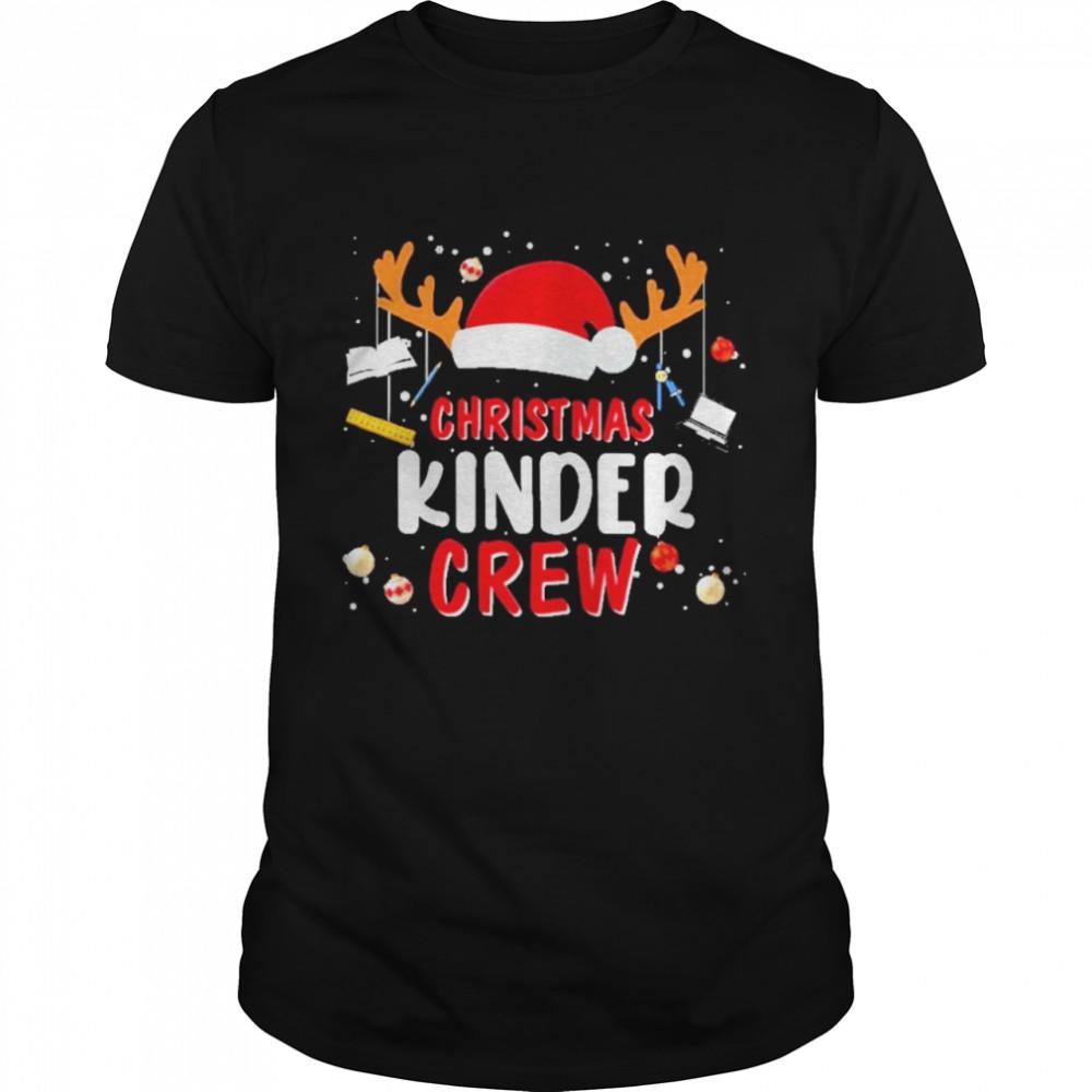 Hat santa christmas kinder crew sweat shirt Classic Men's