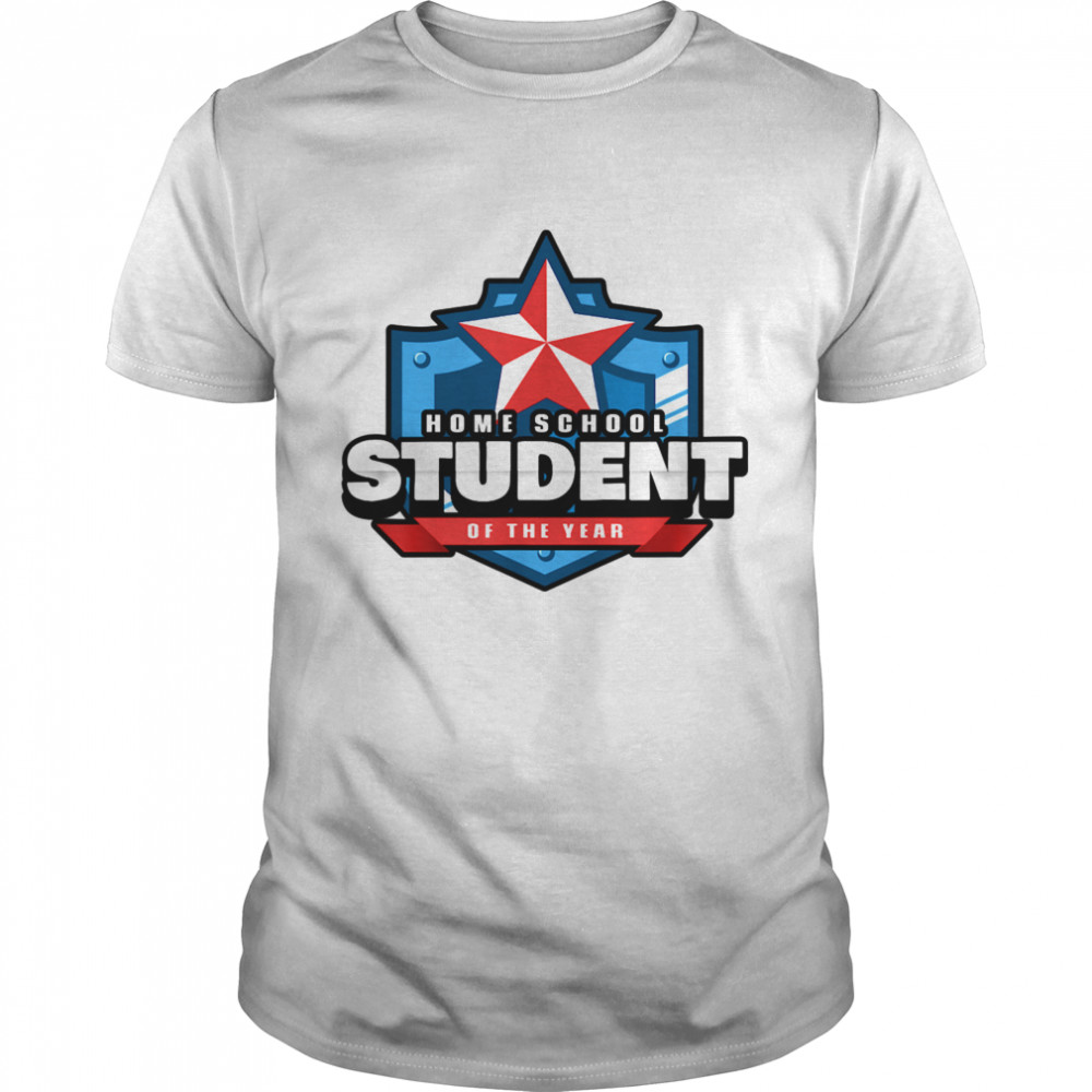 Home School Student of the Year Online Learning shirt Classic Men's
