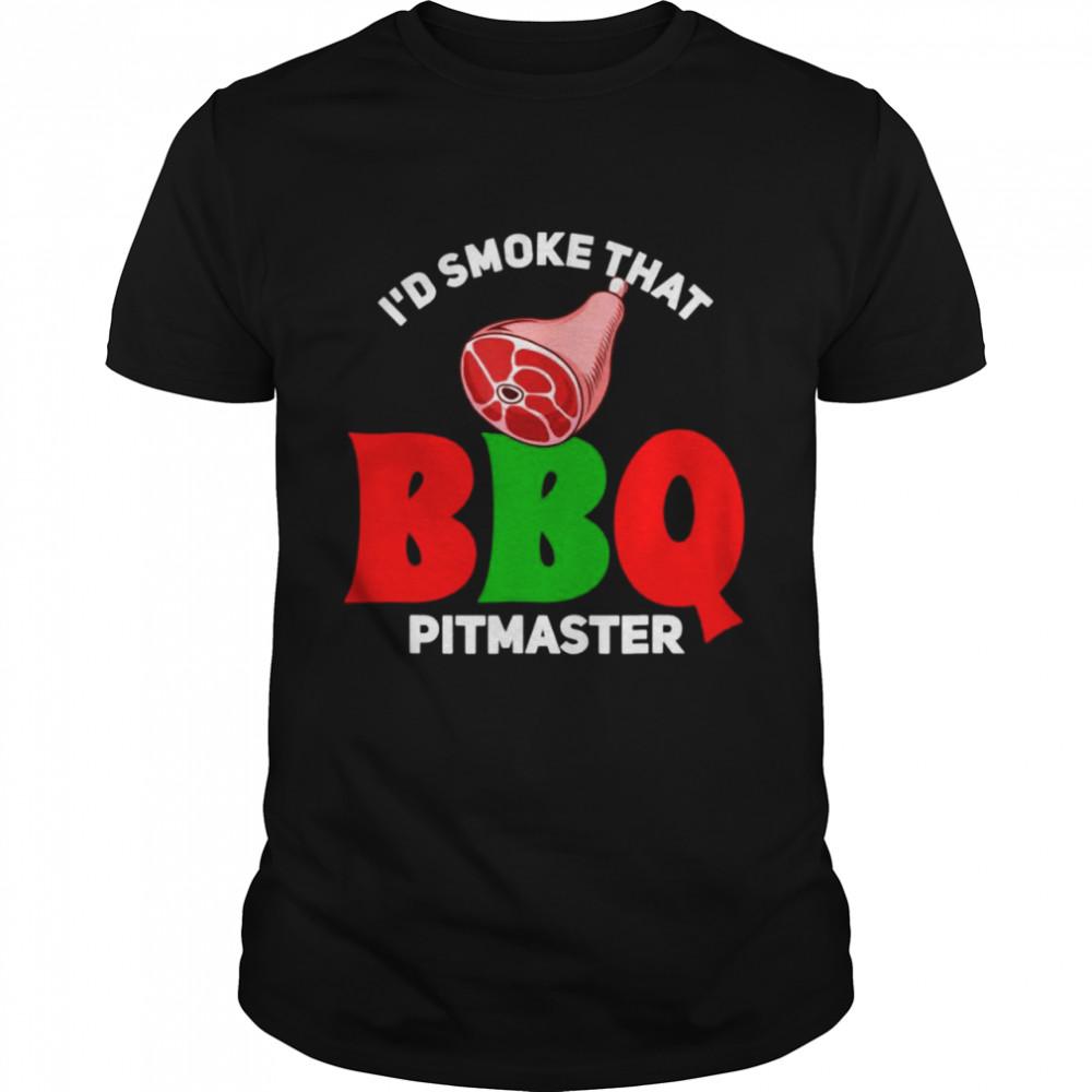 id smoke that bbq pitmaster shirt Classic Men's