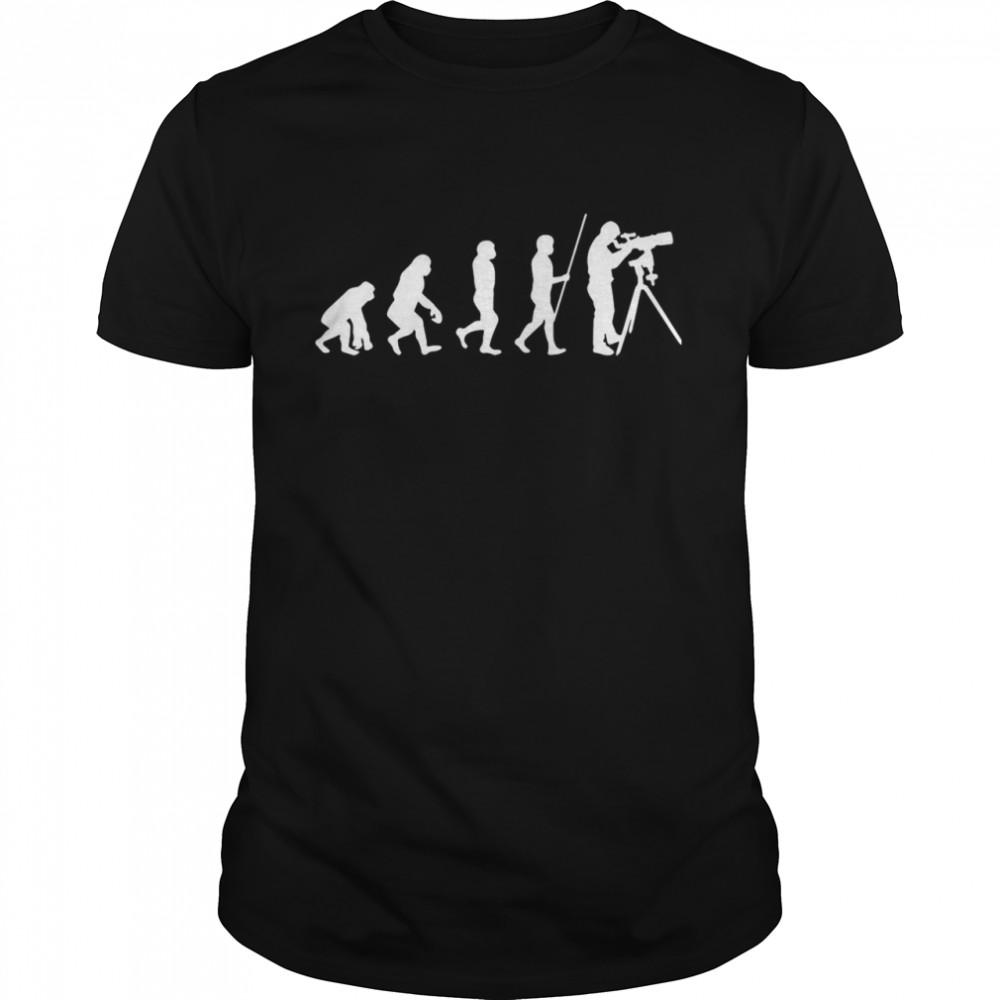Evolution Of Astronomer shirt Classic Men's
