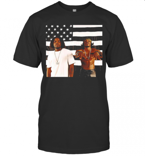 Outkasts Stankonia American Flag shirt Classic Men's