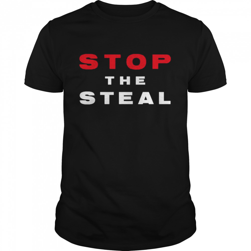 Stop The Steal Trump 2020 Voter Fraud Election Results Rally shirt Classic Men's