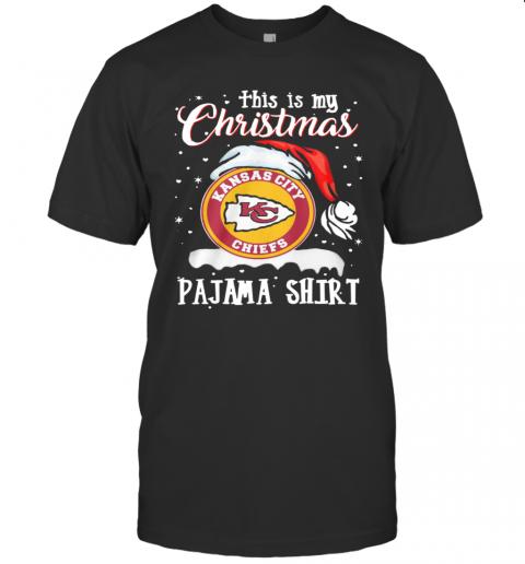 This Is My Christmas Kansas City Chiefs Pajama shirt Classic Men's