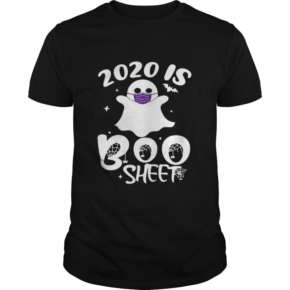 2020 Is Boo Ghost Wear Mask Halloween shirt Classic Men's
