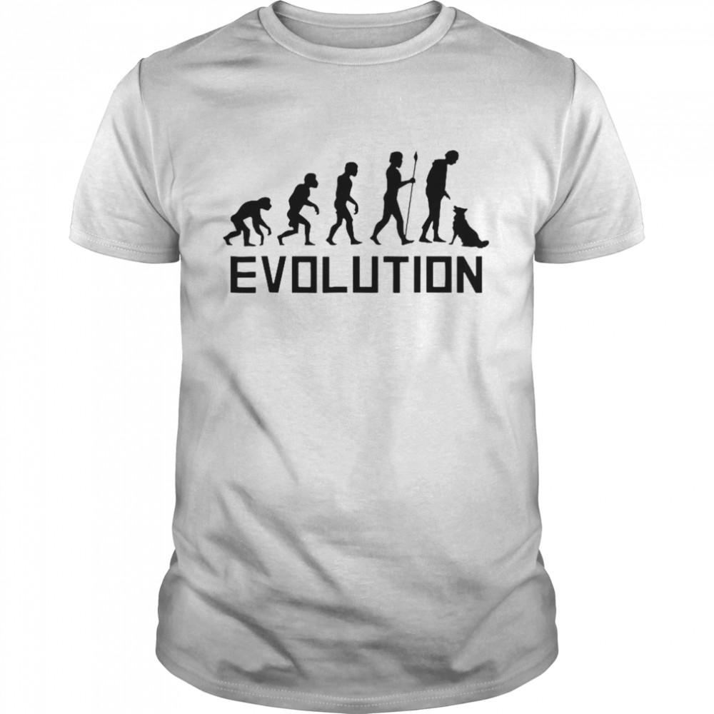 Dog Trainer Evolution Funny Dog Training shirt Classic Men's
