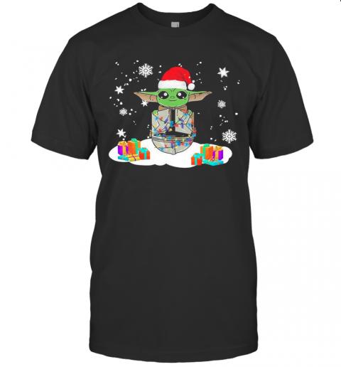 Santa Baby Yoda Star Wars Christmas shirt Classic Men's