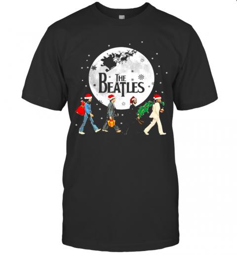 The Beatles Santa Hat Christmas 2020 shirt Classic Men's
