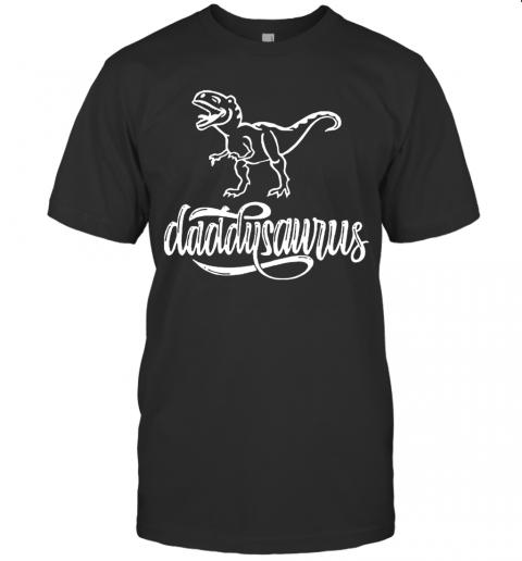 Dinosaurs Trex Daddysaurus shirt Classic Men's