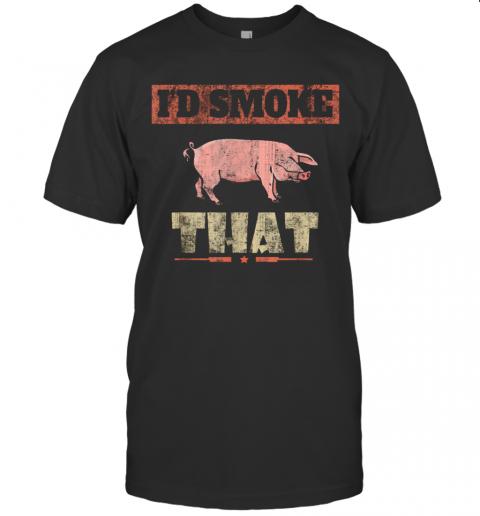 Id Smoke That shirt Classic Men's