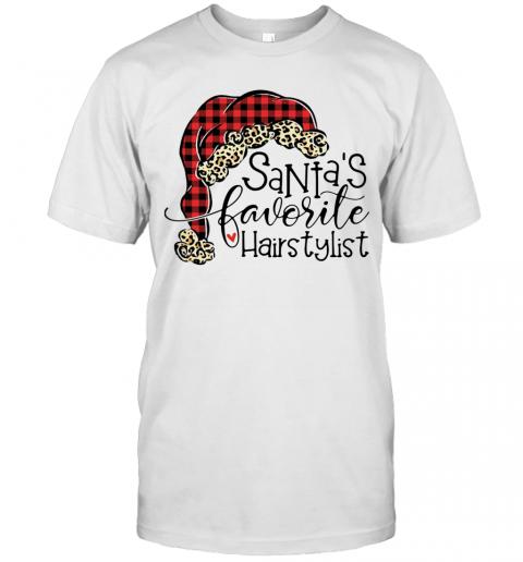 Santa's Favorite Hair Stylist shirt Classic Men's