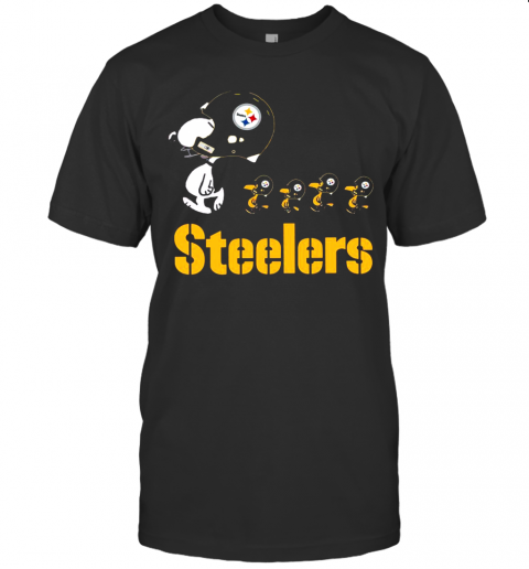 Snoopy And Woodstock The Pittsburgh Steelers shirt Classic Men's