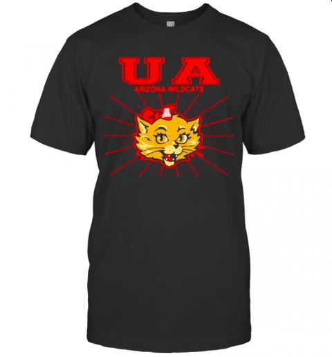 Ua Arizona Wildcats Red Bow Association shirt Classic Men's