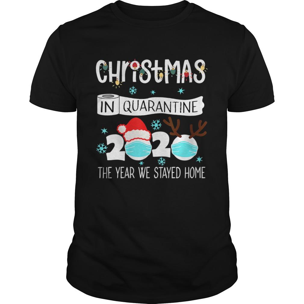 Christmas In Quarantine 2020 Pajamas shirt Classic Men's