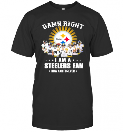 Dawn Right I Am I Steelers Fan Now And Forever Rugby shirt Classic Men's