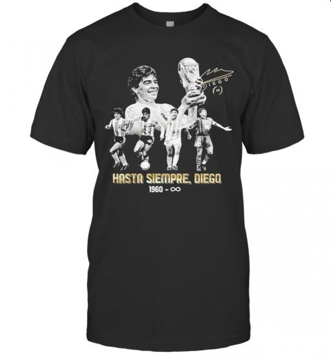 Diego Maradona Hasta Siempre Diego 1960 shirt Classic Men's