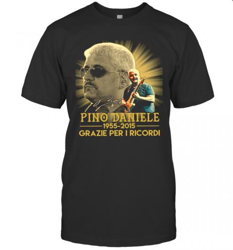 Pino Daniele 1955 2015 Grazie Per I Ricordi shirt Classic Men's